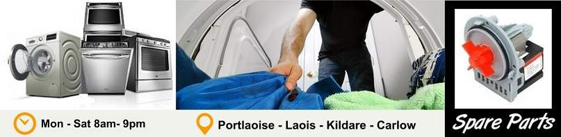 Appliance Repairs Kildare, Nass, Newbridge, Athy, Carlow, Laois, Portlaoise from €60 call Dermot on 086 842 5709
