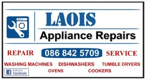 We Fix Washing Machines in Laois, Carlow and Kildare.