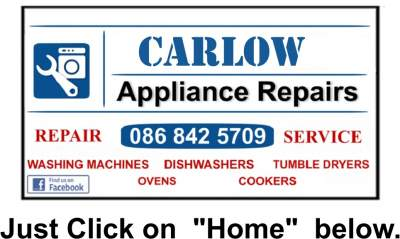 Appliance Repairs Carlow, Kildare from €60 -Call Dermot 086 8425709 by Laois Appliance Repairs, Ireland