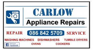 Washing Machine repairs Carlow, Kildare, Athy, Naas from €60 -Call Dermot 086 8425709 by Laois Appliance Repairs, Ireland