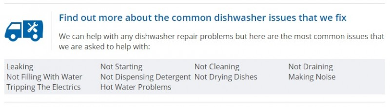 Dishwasher Repairs Naas, from €60 -Call Dermot 086 8425709  by Laois Appliance Repairs, Ireland