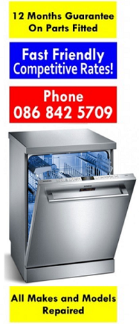 Dishwasher Repairs Portlaoise, from €60 -Call Dermot 086 8425709  by Laois Appliance Repairs, Ireland