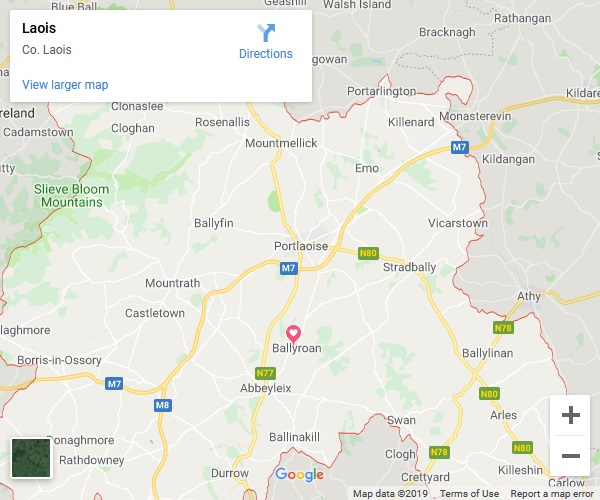 Laois Google Map