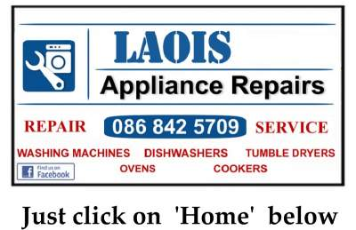 We Fix Dishwashers in Laois, Carlow and Kildare.