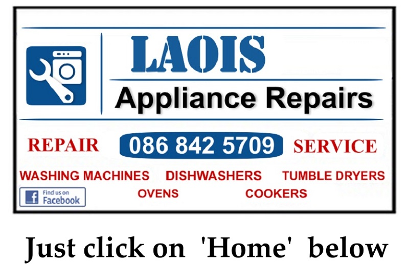 Washing Machine Repairs Portarlington, from €60 -Call Dermot 086 8425709 by Laois Appliance Repairs, Ireland